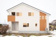 シンプルモダン 収納豊富な家