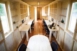 ムービングハウス「スマートモデューロ」オフィス棟のご紹介