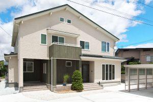 いい距離感 完全分離型の二世帯住宅