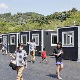 「スマートモデューロ」が熊本県で仮設住宅として使用されました